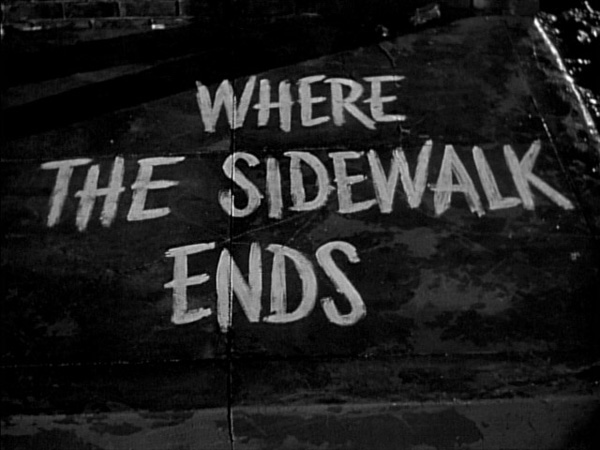 Tipografia_serieB_25_Where the sidewalks ends